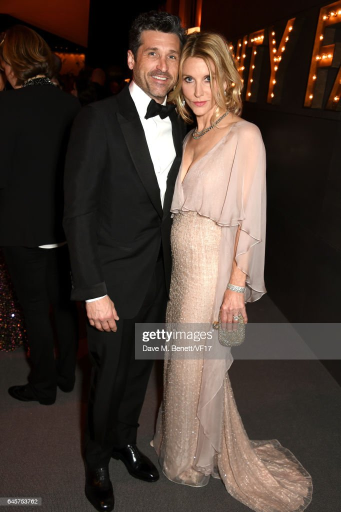Actor Patrick Dempsey And Jillian Fink Attend The 2017 Vanity Fair