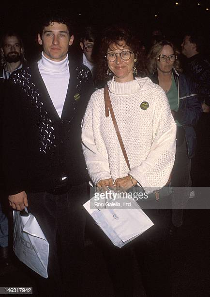 Actor Patrick Dempsey and wife Rocky Parker attend the Cirque du Soleil's Nouvelle Experience Opening Night Performance to Benefit Proposition 128...