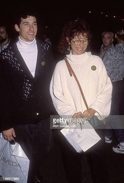 """Actor Patrick Dempsey and wife Rocky Parker attend the Cirque du Soleil's """"Nouvelle Experience"""" Opening Night Performance to Benefit Proposition 128..."""