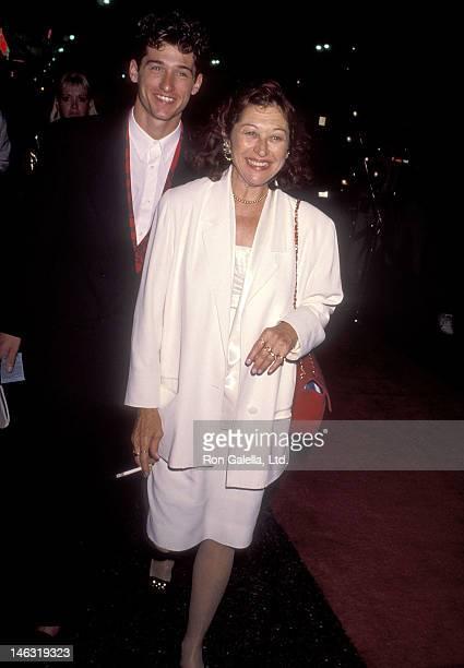 Actor Patrick Dempsey and wife Rocky Parker attend the Commitment to Live IV Gala to Benefit AIDS Project Los Angeles on September 7 1990 at the...