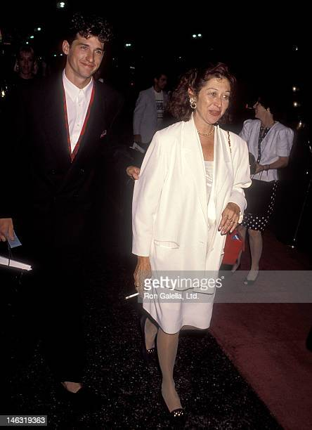 """Actor Patrick Dempsey and wife Rocky Parker attend the """"Commitment to Live IV"""" Gala to Benefit AIDS Project Los Angeles on September 7, 1990 at the..."""