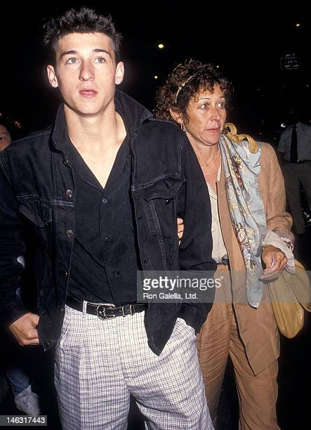 Actor Patrick Dempsey and wife Rocky Parker attend The Fourth Protocol New York City Premiere on August 24 1987 at the Baronet Theater in New York...