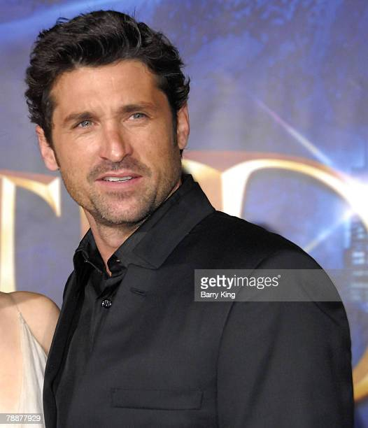 """Actor Patrick Dempsey arrives at the World Premiere of Walt Disney Pictures' """"Enchanted"""" held at El Capitan Theatre on November 17, 2007 in..."""