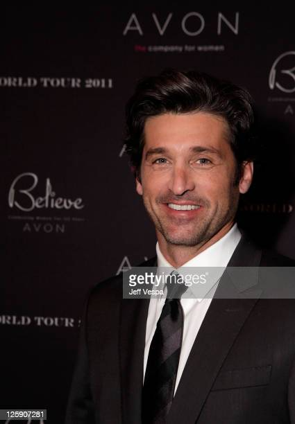 Actor Patrick Dempsey attends AVON 125th Celebration Global Believe Tour at Gibson Amphitheatre on February 9, 2011 in Universal City, California.