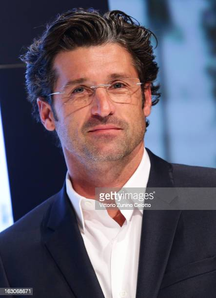 fdbe41d51f7 Actor Patrick Dempsey attends Silhouette press conference on March 4 2013  in Milan Italy
