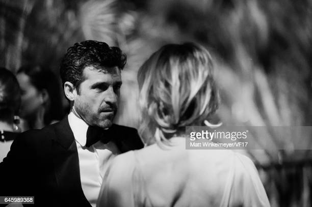 Actor Patrick Dempsey attends the 2017 Vanity Fair Oscar Party hosted by Graydon Carter at Wallis Annenberg Center for the Performing Arts on...