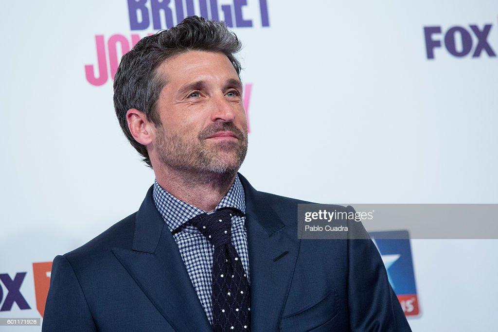 Actor Patrick Dempsey attends the 'Bridget Jones' Baby' premiere at Kinepolis Cinema on September 9, 2016 in Madrid, Spain.