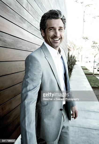 Actor Patrick Dempsey is photographed for August Man on February 13, 2014 in Los Angeles, California. Styling: Erin McSherry + Stacey Kalchman;...