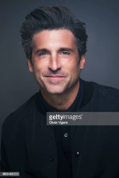 Actor Patrick Dempsey is photographed for Self Assignment on April 2018 in Cannes France