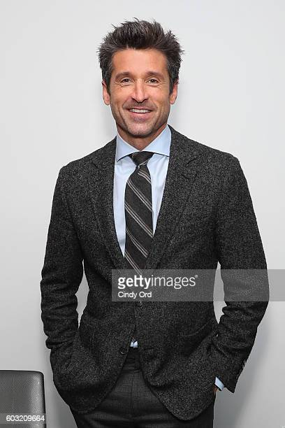 Actor Patrick Dempsey visits the SiriusXM Studios on September 12 2016 in New York City
