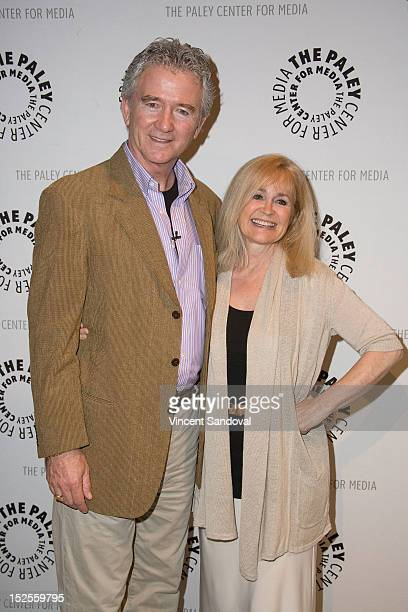 Actor Patrick Duffy and actress Belinda Montgomery attend The Paley Center For Media Presents 'The Man From Atlantis' Screening And Conversation With...