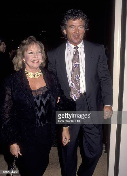 Actor Patrick Duffy and wife Carlyn Rosser attend American Cinema Foundation Hosts 84th Birthday Celebration for Buddy Ebsen on March 20 1992 at...