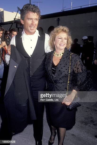Actor Patrick Duffy and wife Carlyn Rosser attend the 17th Annual People's Choice Awards on March 11 1991 at Paramount Pictures Studios in Hollywood...