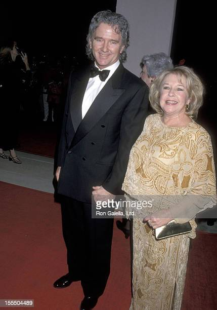 Actor Patrick Duffy and wife Carlyn Rosser attend the 2000 Palm Springs International Film Festival Awards on January 15 2000 at Palm Springs...