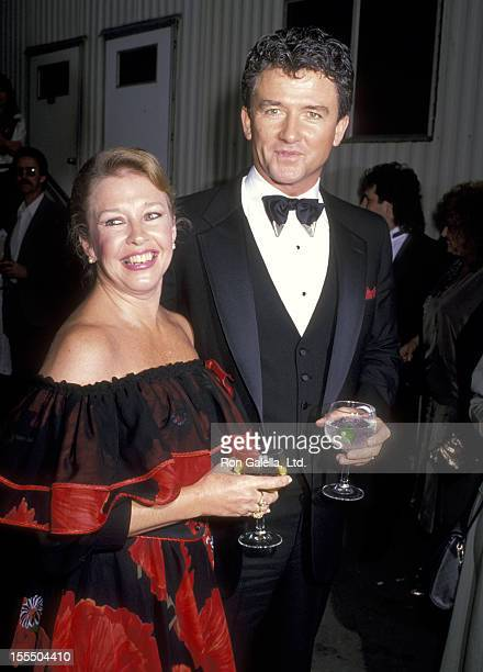 Actor Patrick Duffy and wife Carlyn Rosser attend the 24th Annual Academy of Country Music Awards at Walt Disney Studios in Burbank California