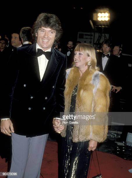 Actor Patrick Duffy and wife Carlyn Rosser attend the 31st Annual Primetime Emmy Awards on September 9 1979 at Pasadena Civic Auditorium in Pasadena...