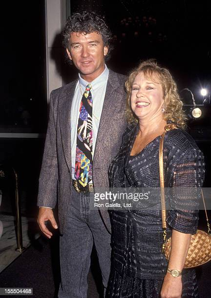 Actor Patrick Duffy and wife Carlyn Rosser attend the ABC Affiliates Party on June 3 1992 at Century Plaza Hotel in Los Angeles California