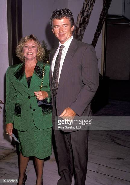Actor Patrick Duffy and wife Carlyn Rosser attend the ABC Fall Season KickOff Party on September 11 1991 at Century Plaza Hotel in Los Angeles...