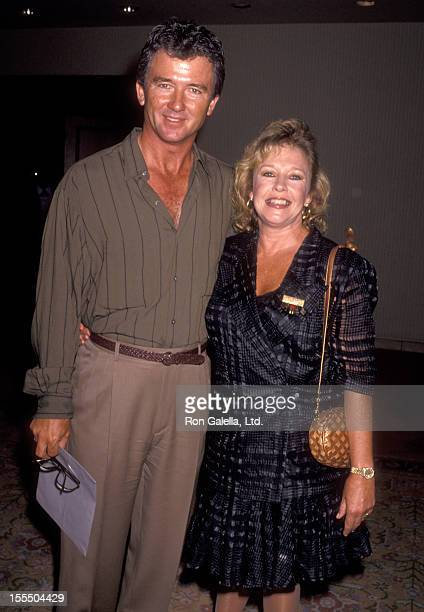 Actor Patrick Duffy and wife Carlyn Rosser attend the ABC Fall TCA Press Tour on July 21 1991 at Universal Hilton Hotel in Universal City California