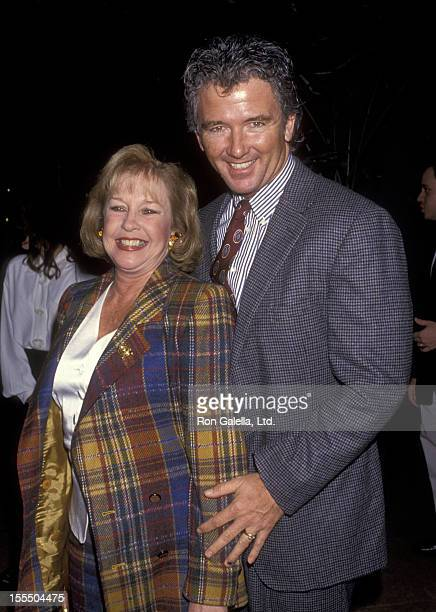 Actor Patrick Duffy and wife Carlyn Rosser attend the Ambassador of Hope Awards Gala Honoring Richard and Lauren Donner on February 10 1994 at...