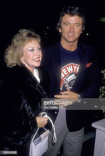 Actor Patrick Duffy and wife Carlyn Rosser attend the Super Bowl XXI Viewing Party on January 25 1987 at Chasen's Restaurant in Beverly Hills...