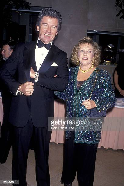 Actor Patrick Duffy and wife Carlyn Rosser attend the Third Annual Fire and Ice Ball on December 2 1992 at Beverly Hilton Hotel in Beverly Hills...