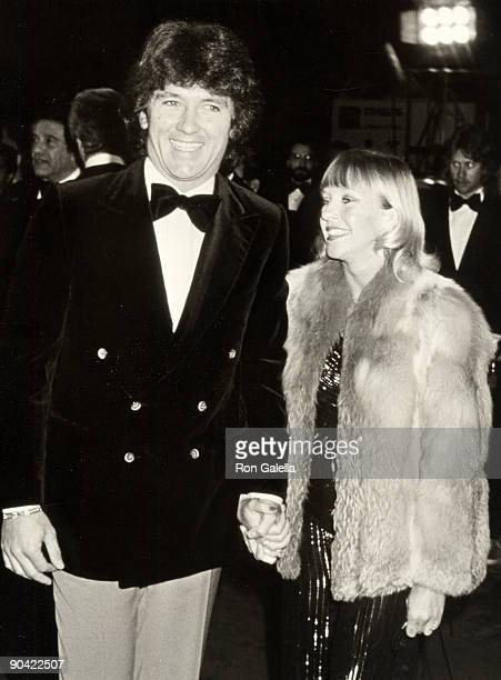 Actor Patrick Duffy and wife Carlyn Rosser attending 31st Annual Grammy Awards on September 9 1979 at the Pasadena Civic Auditorium in Pasadena...