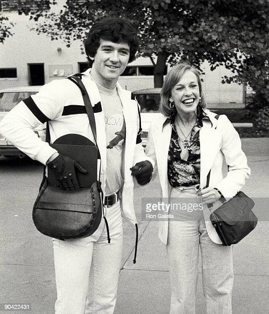 Actor Patrick Duffy and wife Carlyn Rosser attending California State University Celebrity Basket Ball Game on May 22 1977 at California State...