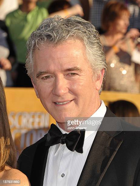 Actor Patrick Duffy arrives at The 18th Annual Screen Actors Guild Awards broadcast on TNT/TBS at The Shrine Auditorium on January 29 2012 in Los...