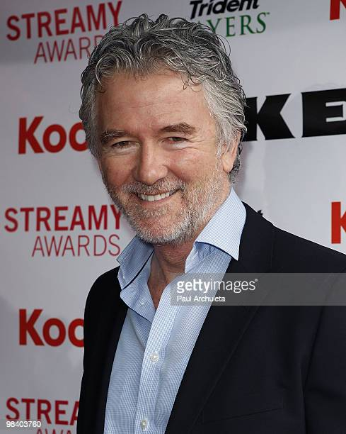 Actor Patrick Duffy arrives at the 2nd Annual Streamy Awards at The Orpheum Theatre on April 11 2010 in Los Angeles California