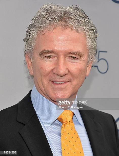 Actor Patrick Duffy arrives to TNT's 25th Anniversary Party at The Beverly Hilton Hotel on July 24 2013 in Beverly Hills California