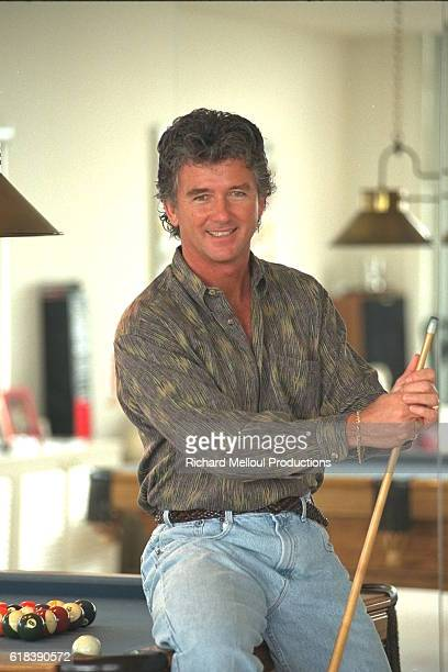 Actor Patrick Duffy at Home in Los Angeles