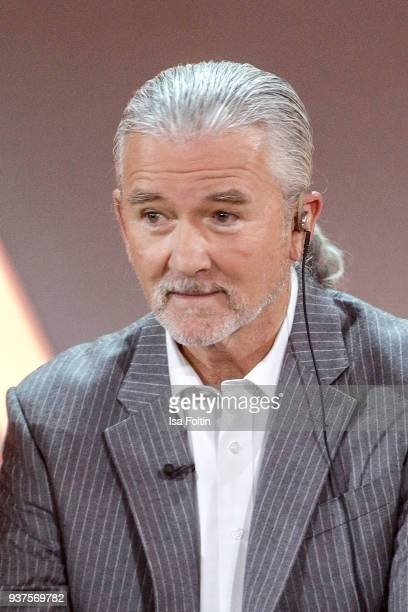 US actor Patrick Duffy during the tv show 'Willkommen bei Carmen Nebel' on March 24 2018 in Hof Germany The show will be aired on March 24 2018
