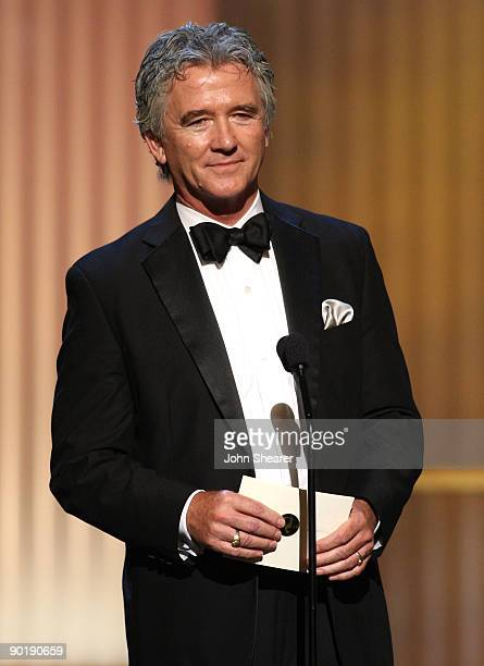 Actor Patrick Duffy speaks onstage during the 36th Annual Daytime Emmy Awards at The Orpheum Theatre on August 30 2009 in Los Angeles California