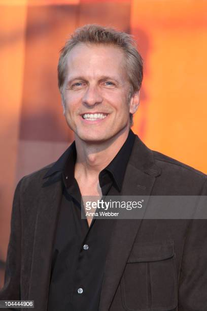 """Actor Patrick Fabian arrives at the Universal Studios Hollywood """"Halloween Horror Night"""" Eyegore Awards on September 24, 2010 in Universal City,..."""