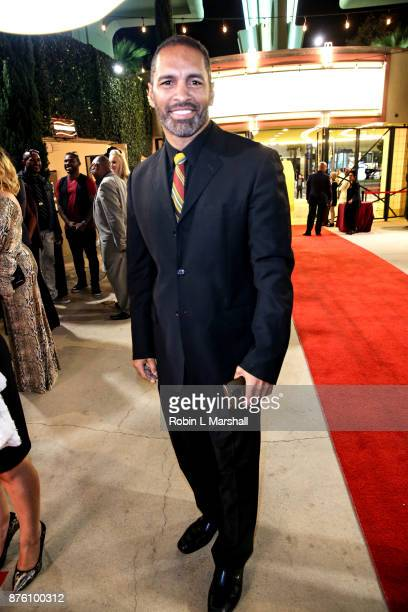 Actor Patrick Faucette arrives at the 2017 HAPAwards at Alex Theatre on November 18 2017 in Glendale California