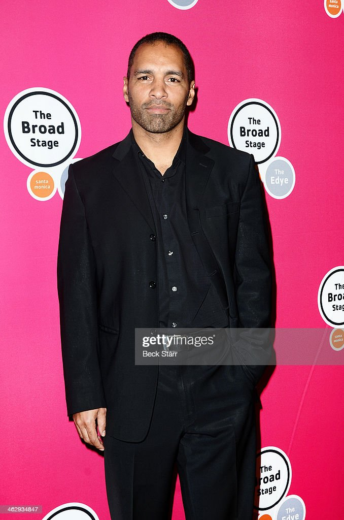 Actor Patrick Faucette attends the opening night of 'An Iliad' at The Eli and Edythe Broad Stage on January 15, 2014 in Santa Monica, California.