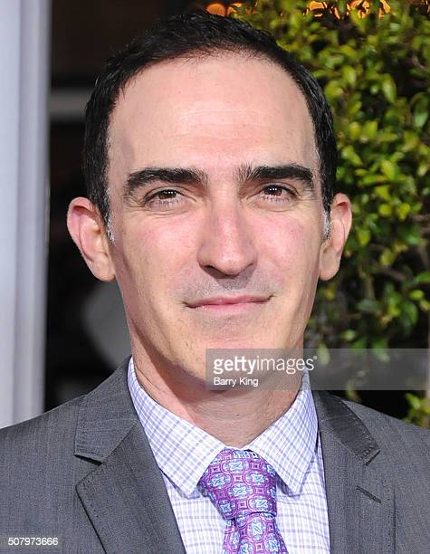 Actor Patrick Fischler attends the Premiere of Universal Pictures' 'Hail Caesar' at the Regency Village Theatre on February 1 2015 in Westwood...