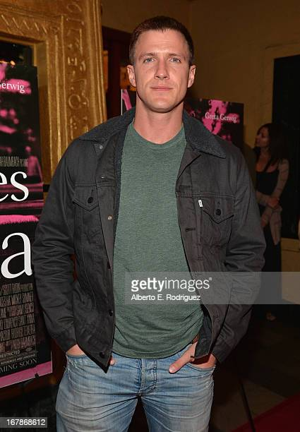 Actor Patrick Heusinger attends a screening of IFC Films' 'Frances Ha' at the Vista Theatre on May 1 2013 in Los Angeles California