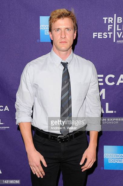Actor Patrick Heusinger attends the 2012 Tribeca Film Festival at the AMC Lowes Village on April 20 2012 in New York City