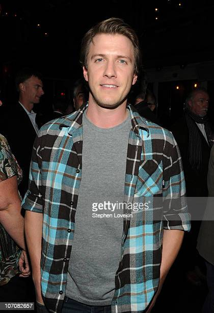 Actor Patrick Heusinger attends the after party following a screening of 'I Love You Phillip Morris' hosted by The Cinema Society and DeLeon Tequila...