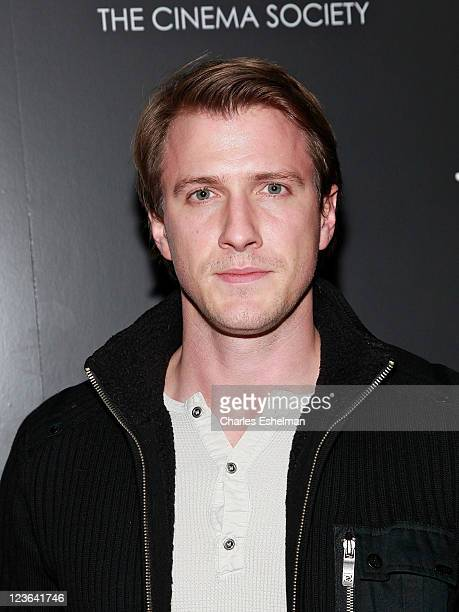 Actor Patrick Heusinger attends The Cinema Society Men's Health screening of 'The Fighter' To Benefit The Cinema School at SVA Theater on December 10...