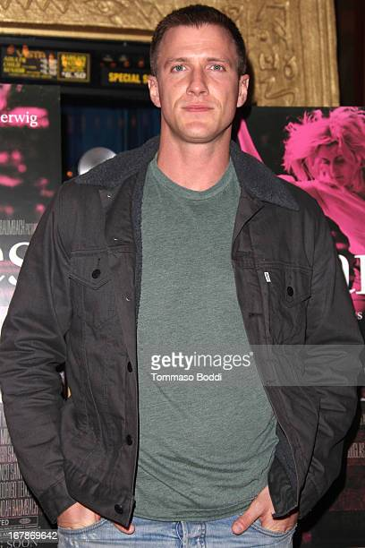 Actor Patrick Heusinger attends the IFC Films and Flux present exclusive screening of 'Frances Ha' held at the Vista Theatre on May 1 2013 in Los...