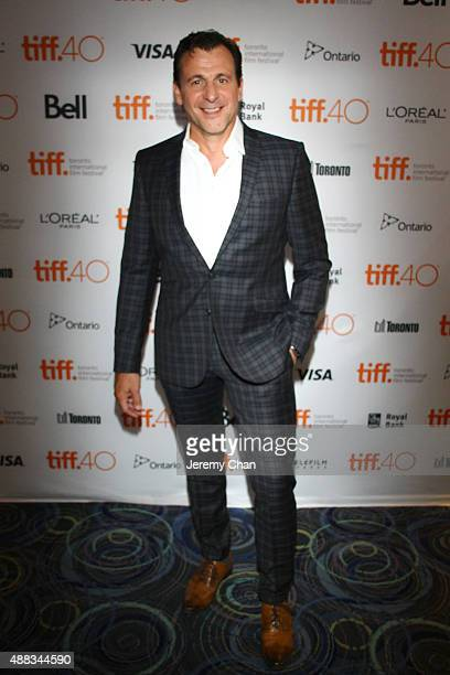 Actor Patrick Huard attends the 'My Internship in Canada' photo call during the 2015 Toronto International Film Festival at Scotiabank Theatre on...