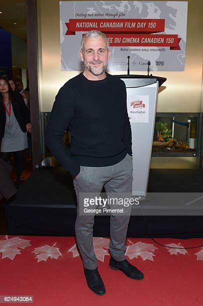 Actor Patrick Huard attends the REEL CANADA press conference announcing a major government support to host world's largest oneday film festival for...
