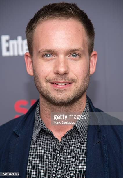Actor Patrick J Adams attends the 'Suits' Season 6 Screening Panel at Entertainment Weekly Screening Room on June 23 2016 in New York City