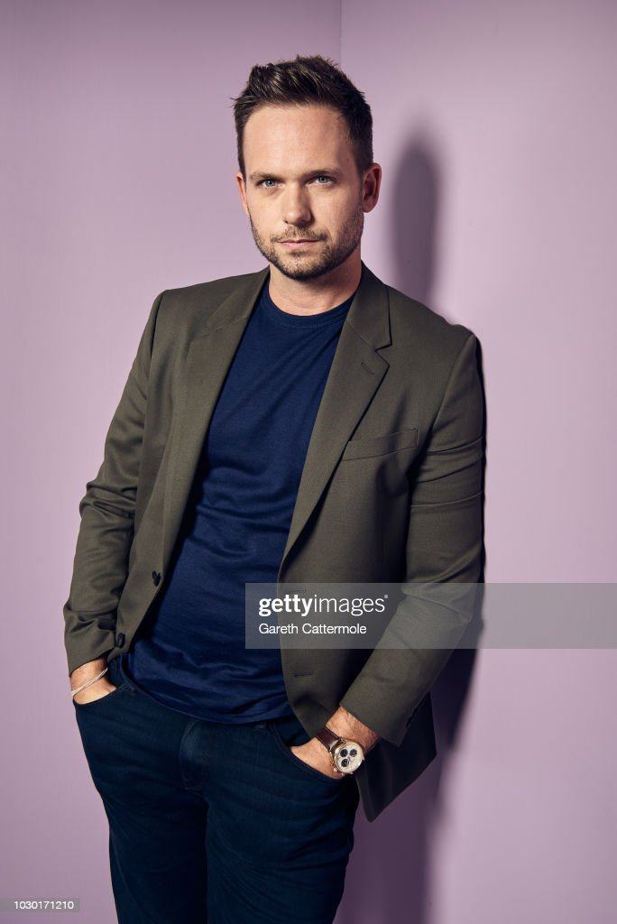 Actor Patrick J. Adams from the film 'Clara' poses for a portrait during the 2018 Toronto International Film Festival at Intercontinental Hotel on September 9, 2018 in Toronto, Canada.