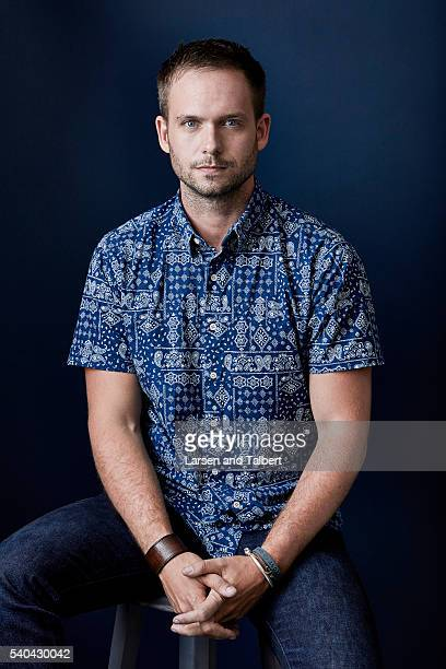 Actor Patrick J Adams is photographed for Entertainment Weekly Magazine at the ATX Television Fesitval on June 10 2016 in Austin Texas