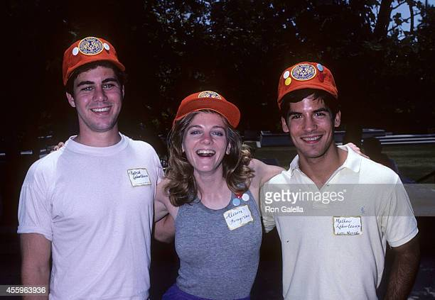 Actor Patrick Labyorteaux actress Alison Arngrim and actor Matthew Laborteaux attend the 17th Annual CaliforniaSpecial Olympics Summer Games on June...
