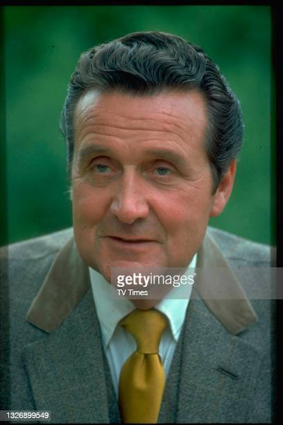 Actor Patrick Macnee in character as Jon Steed in action series The New Avengers, circa 1977.